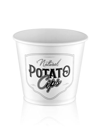 The Mia Patates Kovası Beyaz